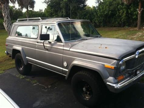 jeep chief 1979 sell used 1979 jeep cherokee chief in naples florida