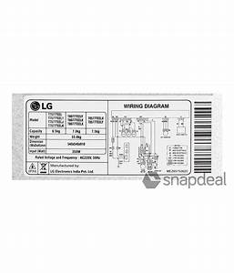 Lg 6 5 T7577teel Fully Automatic Top Load Washing Machine
