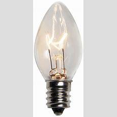 C7 Christmas Light Bulb  C7 Clear Christmas Light Bulbs