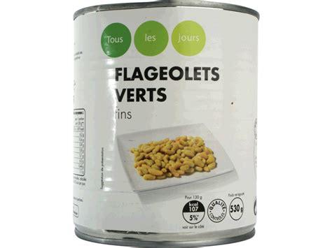 cuisiner des flageolets secs flageolets vert 530g tous les produits conserves de