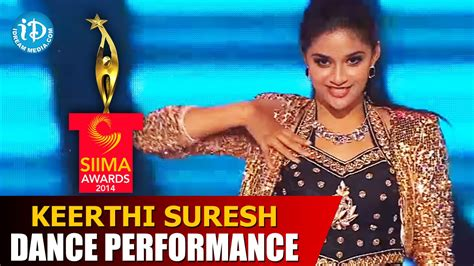 Keerthi Suresh Exclusive Dance Performance @ #siima2014