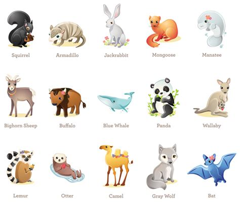 endangered animals  names