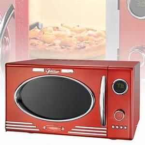 Mikrowelle Rot Retro : retro vintage mikrowelle rot 25 liter mikrowellenofen 1000w grill timer melissa ebay ~ Eleganceandgraceweddings.com Haus und Dekorationen