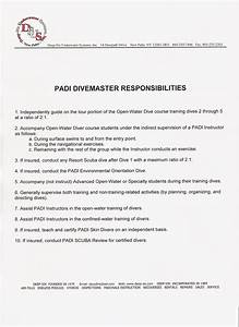 divemaster course With padi emergency action plan template