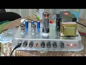 Diy Tube Amplifier Using Schematics From Ax84  12ax7 For