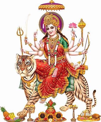 Durga Maa Mata Devi Goddess Transparent God