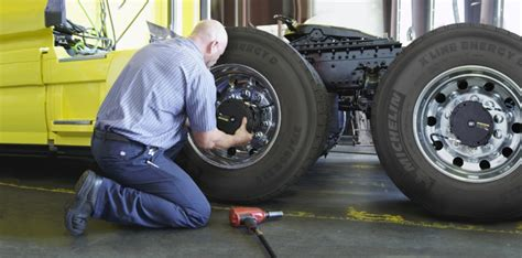 Michelin's New Truck Tire Auto Inflator Aims To Save Money