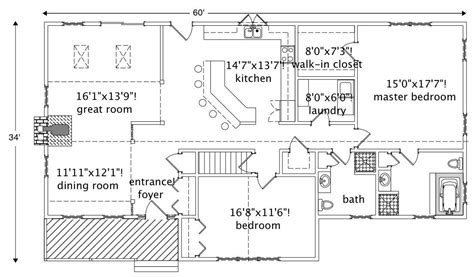 country ranch home   bedrms  sq ft house plan