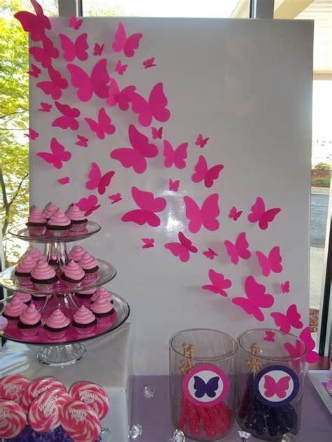 Erfly Backdrop Glam Pink Purple Birthday