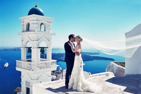 Elegant Santorini Wedding At Theros Wave Bar