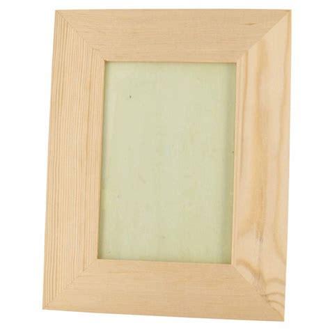cadre photo bois a decorer support bois d 233 corer cadre photo 23x18 cm pour photo 10x15cm