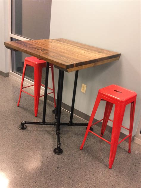 industrial high top table industrial square tables emmorworks