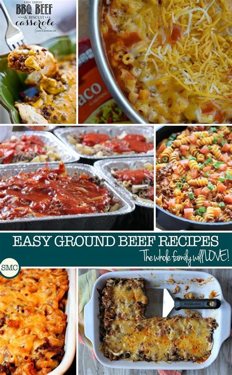 easy ground beef casserole recipes for kids to enjoy