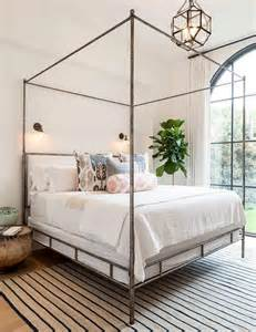 Wrought Iron Bench With Cushion by 25 Best Ideas About Canopy Beds On Pinterest Girls