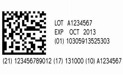 Barcode Readable Human Datamatrix Text Serialized Grading