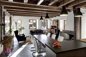 ordinaire escalier entre cuisine et salon 2 home With escalier entre cuisine et salon