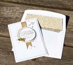 Glückwunschkarten Zur Goldenen Hochzeit : gl ckwunschkarte zur goldenen hochzeit mit stampin up ~ Frokenaadalensverden.com Haus und Dekorationen