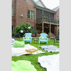 Abby's Sweet 16 Outdoor Movie Party  Less Than Perfect
