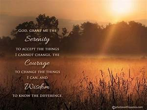 Serenity Prayer Wallpapers - Wallpaper Cave