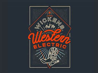Western Electric Band Mary Dribbble Adventurin Friend