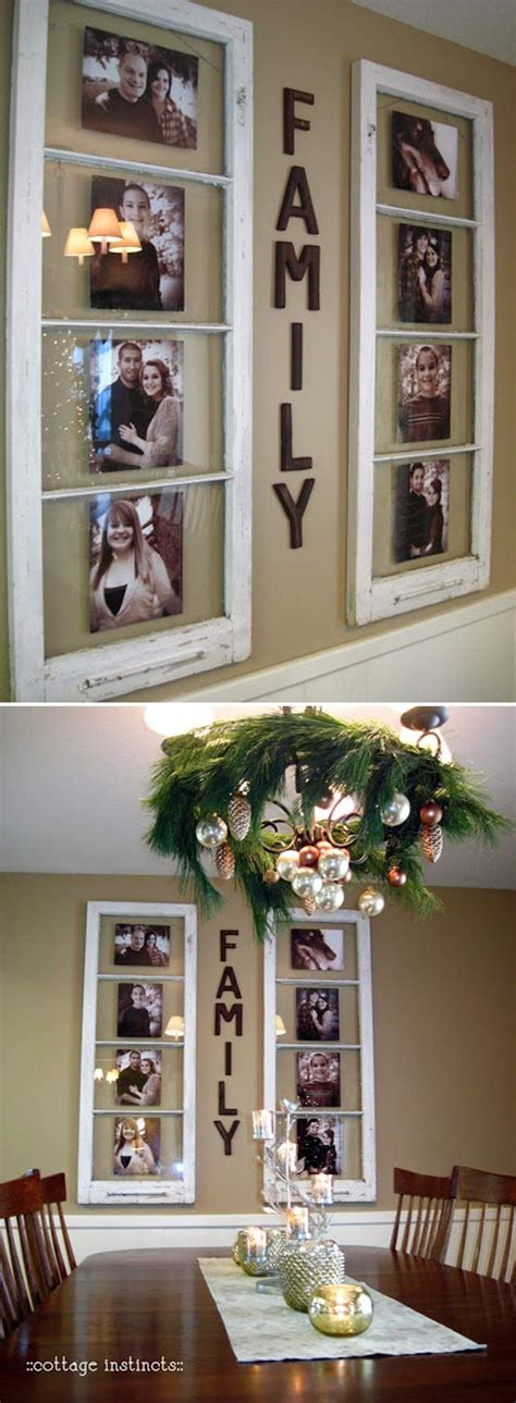 Diy Family Photo Display Click On Image To See More Home