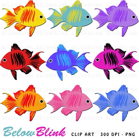 ocean fish clipart    clipartmag