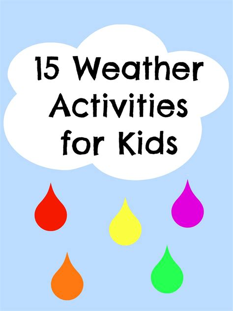 15 weather activities kid s co op reading confetti 503 | weather 2