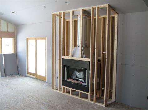 Gas Fireplace Rough Framing Fireplace Ideas