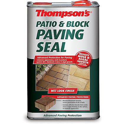 thompsons patio and block paving seal look finish