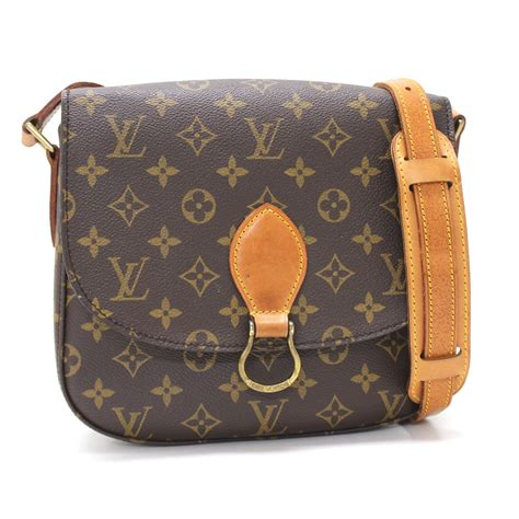 authentic louis vuitton monogram saint cloud shoulder bag