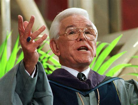 rev robert schuller  dies built  empire preaching