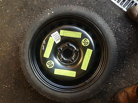audi    tdi cgl  space saver spare wheel