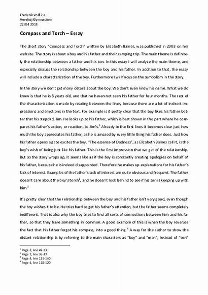 Father Story Son Essay Short Essays Conflict