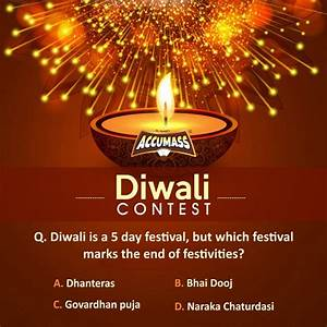 Diwali Contest In India - Comment And Share With Friends