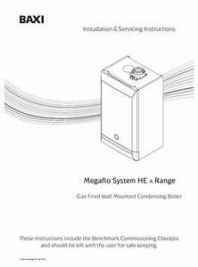 Baxi Megaflo System He A Range Installation  U0026 Servicing