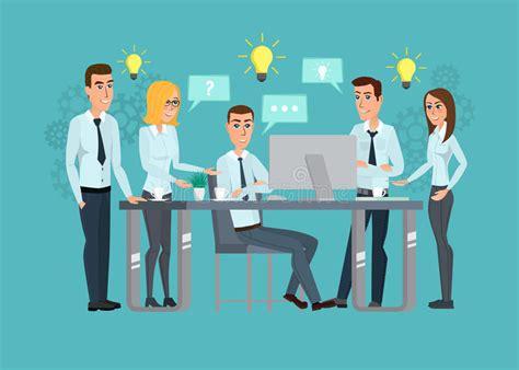 bureau equipe équipe professionnelle de travail d 39 affaires réunion