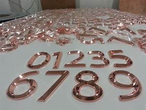 High quality different color plating rose gold metal for Rose gold metal letters