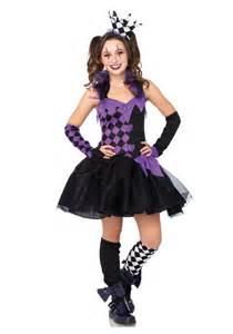 Junior Girls Darling Jester Costume
