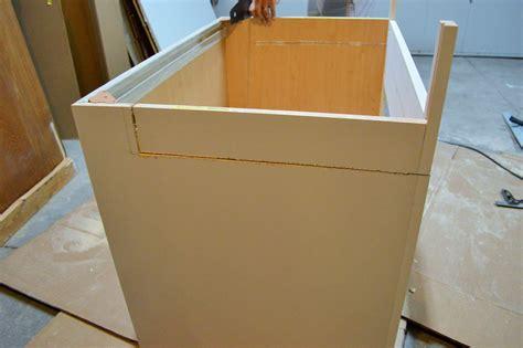 apron sink base cabinet diwyatt adjusting the apron sink base before installation