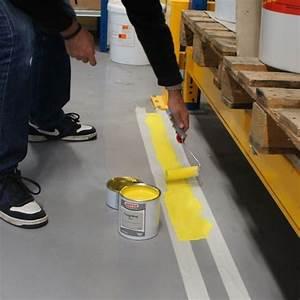 Peinture Sol Epoxy : peinture poxy marquage au sol poxy ligne ultra ~ Edinachiropracticcenter.com Idées de Décoration