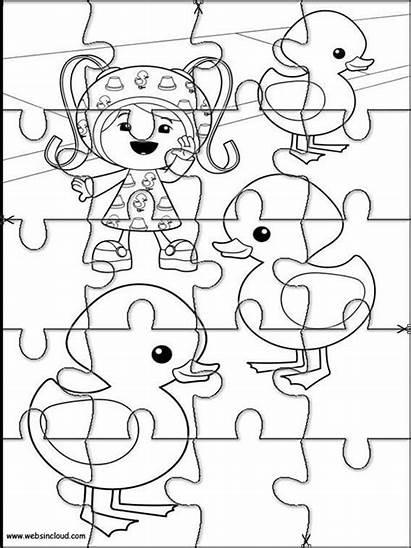 Para Rompecabezas Imprimir Actividades Recortables Puzzles Colorear