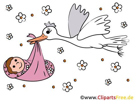 baby clipart storch und baby clipart bild