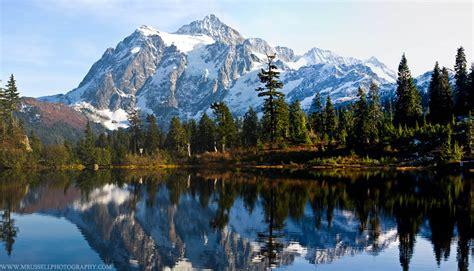 Mount Shuksan In The Mount Baker Wilderness