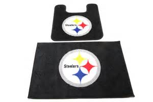 nfl two piece bath mat set steelers and cowboys