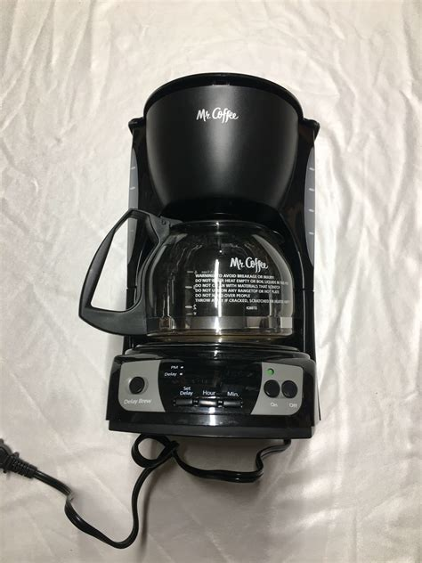The final product is brought to you by though the former coffee machines that we just reviewed are not an inferior choice at all and can this k cup compatible coffee maker is designed mainly for the traveling guys. Mr. Coffee Cgx7 5-Cup Programmable Coffeemaker Black Maker for sale online | eBay