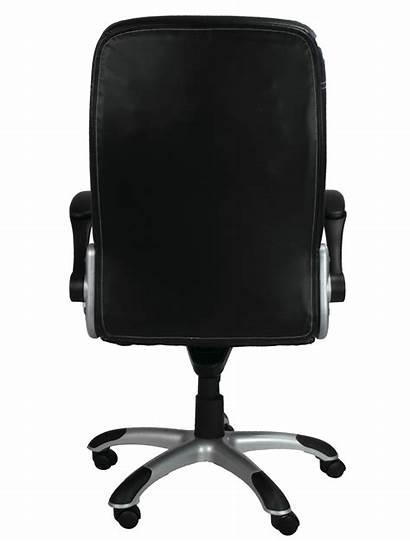 Chair Desk Office Clipart Transparent Executive Background