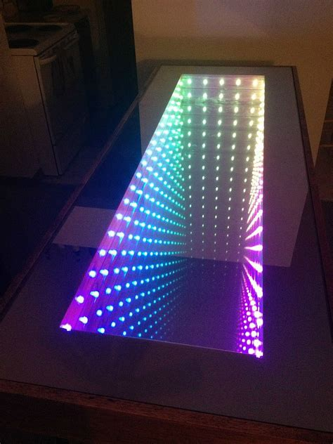 diy led light table an infinity table no way 18 incredible things you never