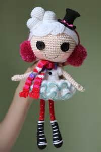 Winter Snowflake Lalaloopsy Doll Crochet