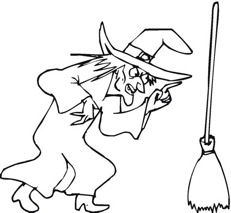 Scary Halloween Witch Coloring Pages by Printable Witch Coloring Pages Coloring Me