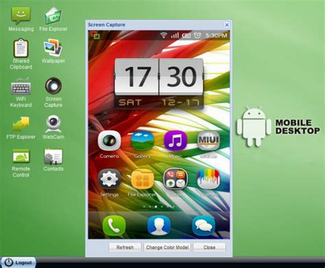 remote android from pc android device from computer pc mac web browser